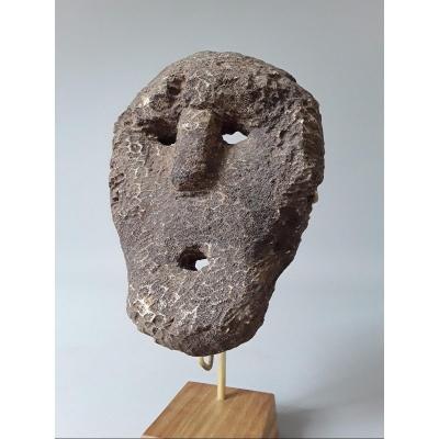 Petit Masque Timor Oriental  Indonésie