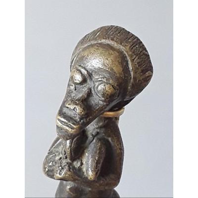 Petit Bronze Akan Cote d'Ivoire