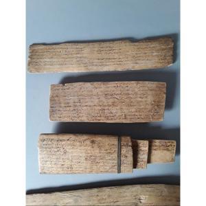 Ensemble De 8 Tablettes Manuscrites Haut Atlas