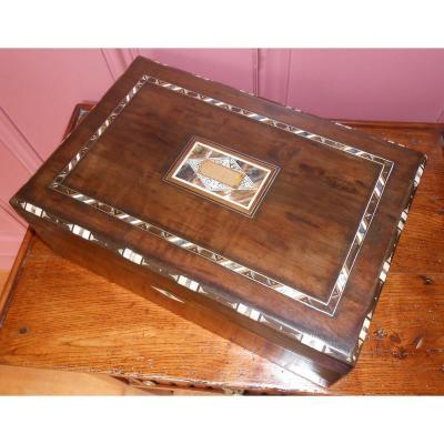 Coffret, boîte à bijoux d'époque Art Déco.