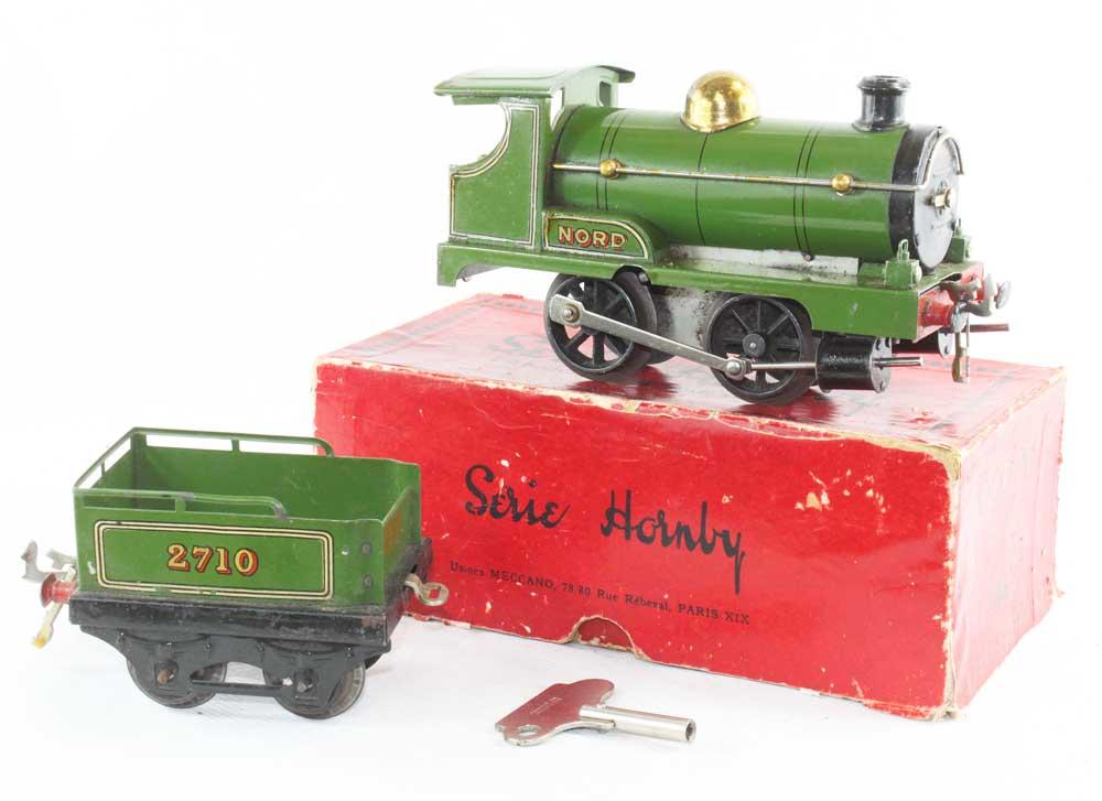 Set Of Prewar Hornby Trains