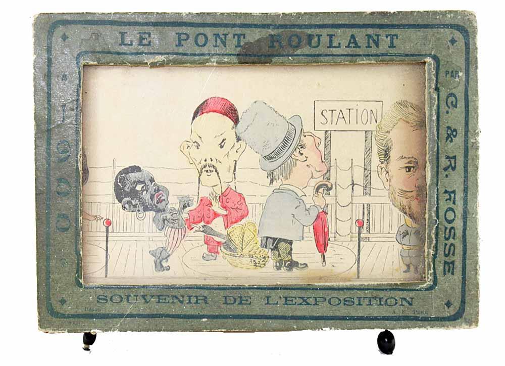 The Rolling Bridge Souvenir Of The 1900 Universal Exhibition