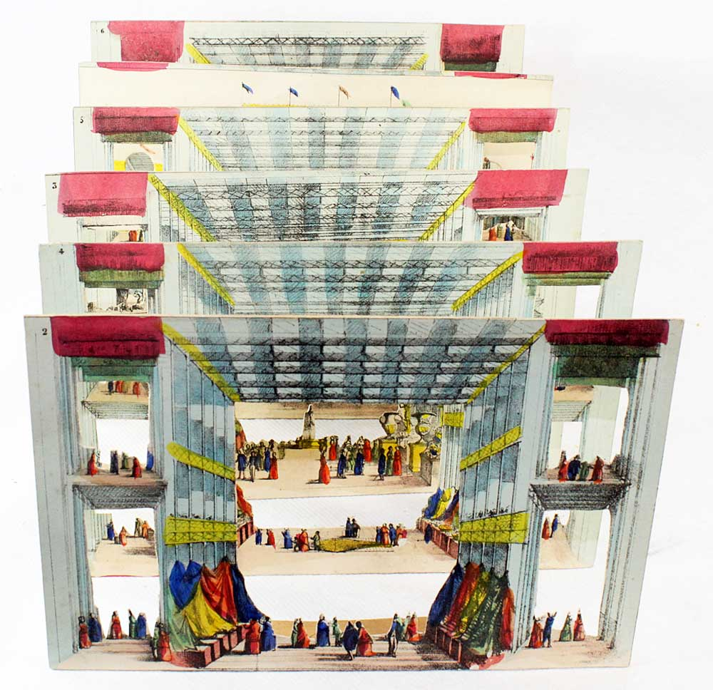 Exhibition Of London 1851 / Optical Toy