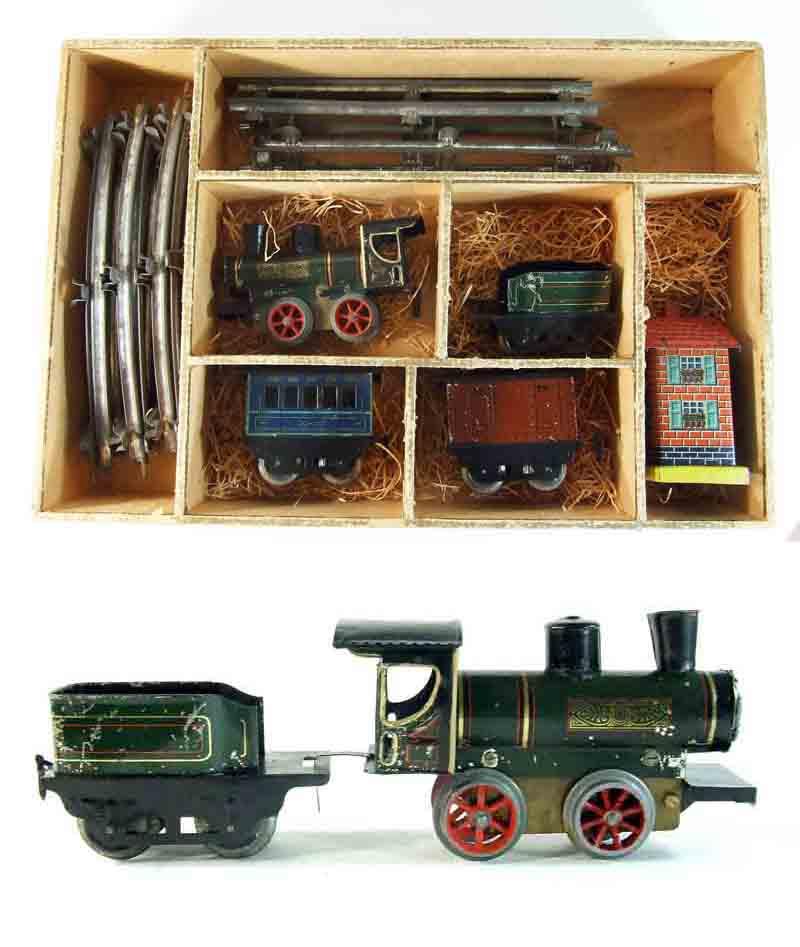 TRAIN NAIF 1890 / jouet ancien