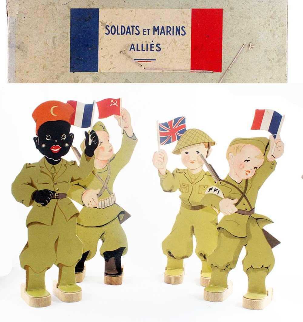 SOLDATS ET MARINS ALLIES jeu de tir 1944