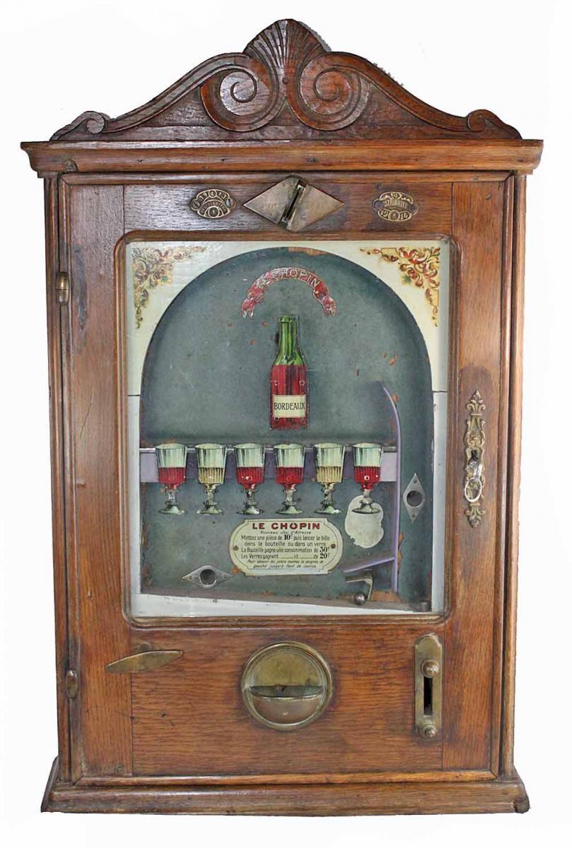 LE CHOPIN machine a sous vers 1900