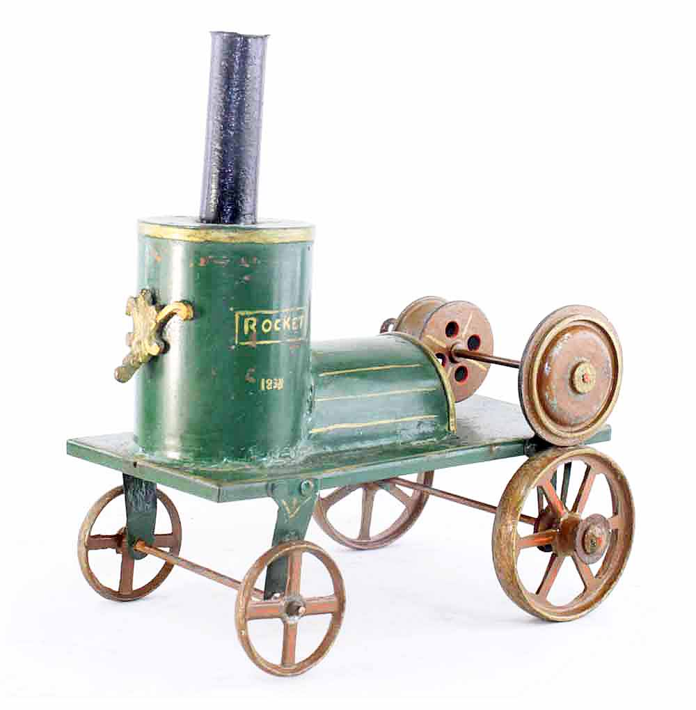 Rocket Train 1838 / Old Toy