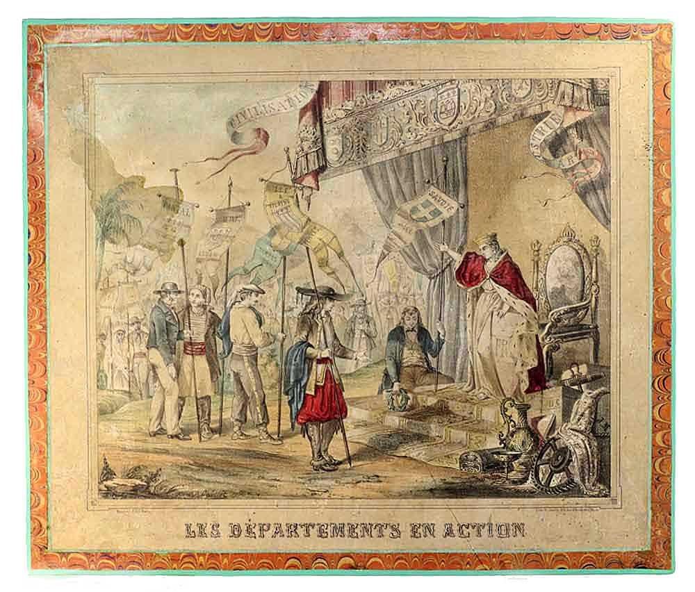 Puzzle LES DEPARTEMENTS EN ACTION 1848