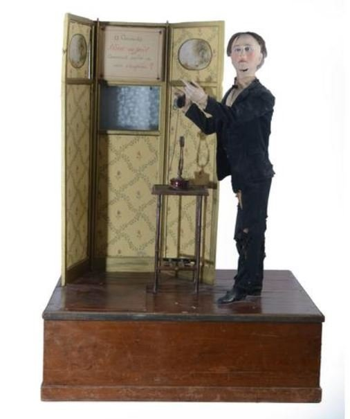 The Booking Phalibois Machine End Of The 19th Century