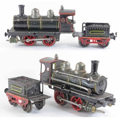 Locomotive MARKLIN 020 a frein automatique / jouet ancien