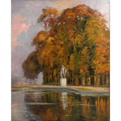 Lucie Ranvier-Chartier 1924 - Parc de Versailles.
