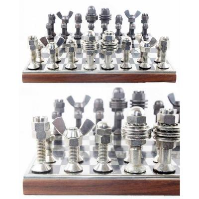 Chess Set Industrial Arts 1960
