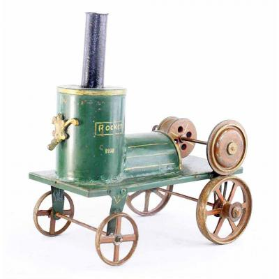 TRAIN ROCKET 1838 / jouet ancien