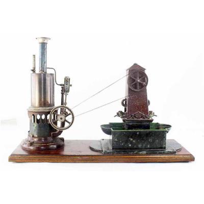 Fontaine à Vapeur E. Planck