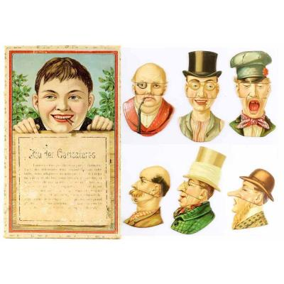 Caricature Game Circa 1890
