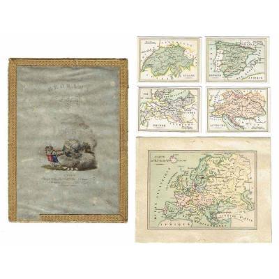 GEORAMA EUROPEEN vers 1830