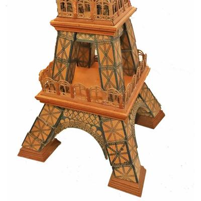 Le Constructeur Eiffel - The 300 Meter Tower Circa 1889