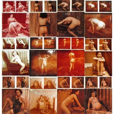 32 photos stéréographiques EROTIQUES vers 1900 - 1920