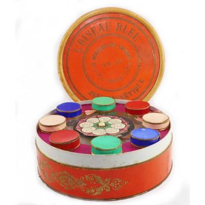 L'OISEAU BLEU  jeu magnétique fin XIXème.