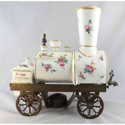 Cafetière-locomotive TOSELLI  1865