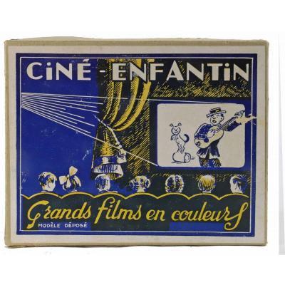 CINE-ENFANTIN vers 1940 / jouet ancien