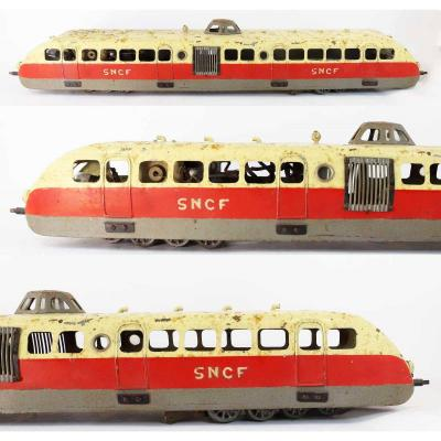 AUTORAIL BUGATTI SNCF   vers 1940 - 1950