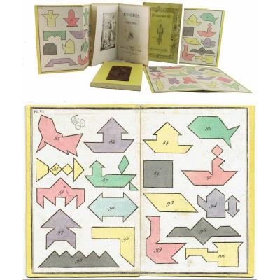 ENIGMES CHINOISES 1817 / jeu ancien