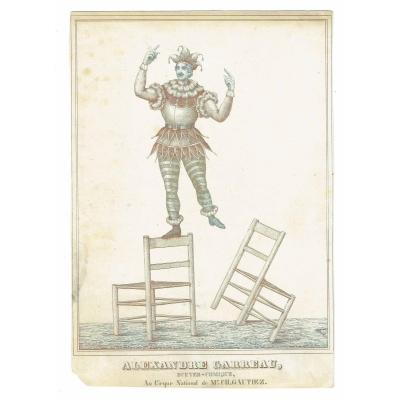 GRAVURE  ALEXANDRE GARREAU   1845