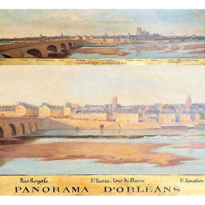 PANORAMA D' ORLEANS 1886
