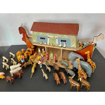 Noa's Ark Circa 1880-1900 German
