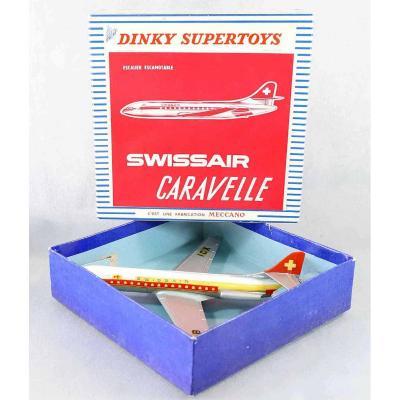 Dinky Toys Caravelle Swissair