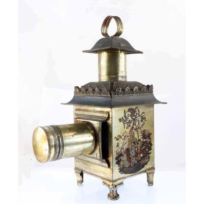 Lanterne Magique CHINOISE  1850