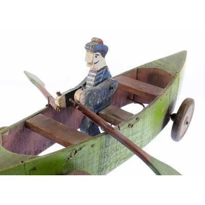Wooden Rower Circa 1900 - 1920