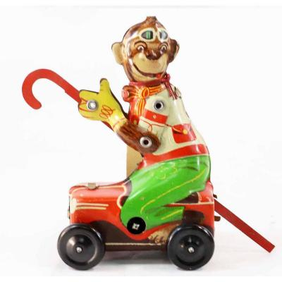 Hofler Cane Monkey 1950 / Old Toy