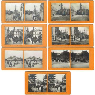 EXPOSITION UNIVERSELLE  1900 - 47 STEREOS