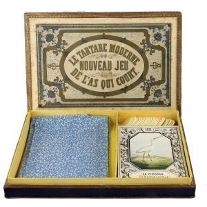 LE TARTARE MODERNE - NOUVEAU JEU DE L'AS QUI COURT vers 1850
