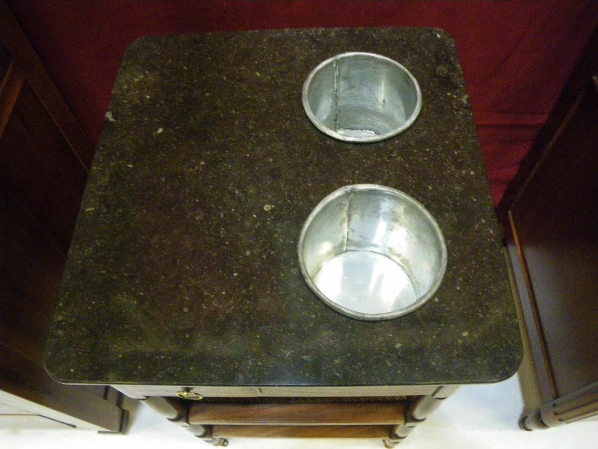 Table Rafraissoir En Acajou-photo-3