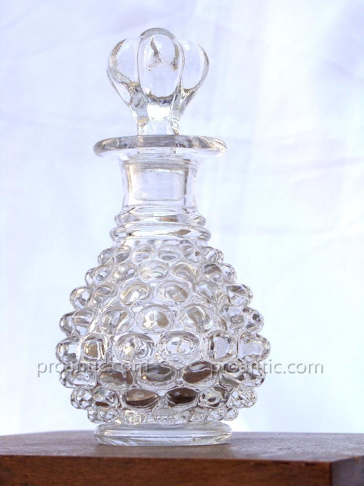 Flacon Cristal 19° - Flacon De Cheminée Ananas - Flacon Parfum