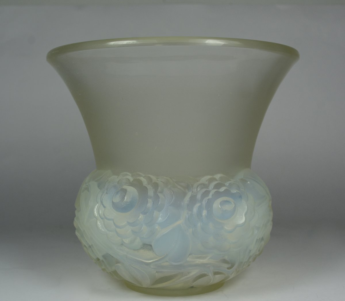 Rene Lalique, Vase Renoncules, Vers 1931