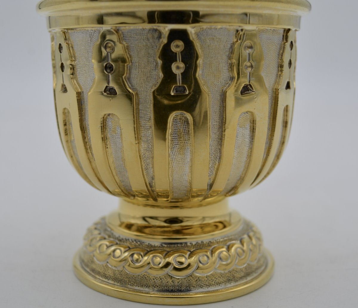 Timbal In Gilded Silver, Mexico  XX Century Tane Orfevres -photo-5