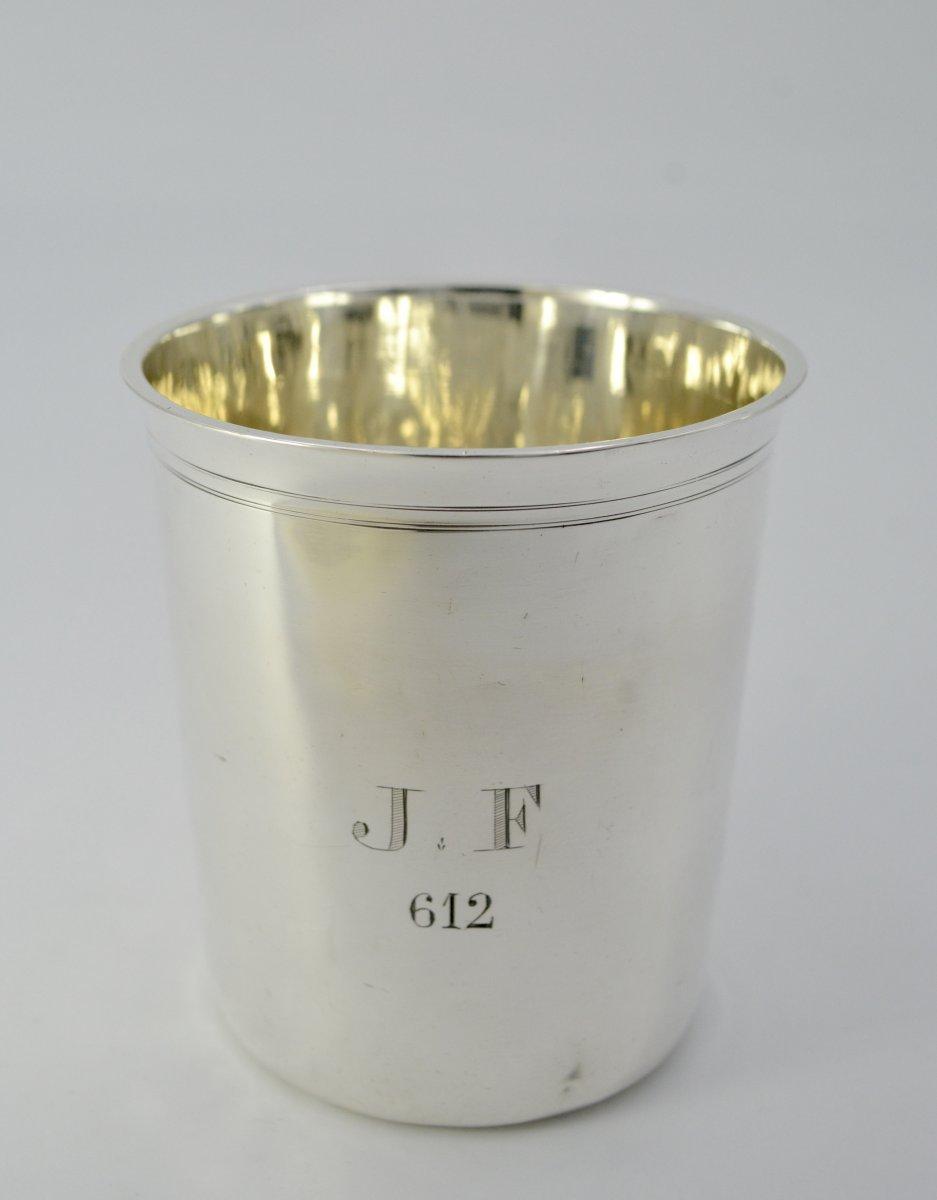 Timpani In Silver France By Tonnelier Orfèvre XIX Century