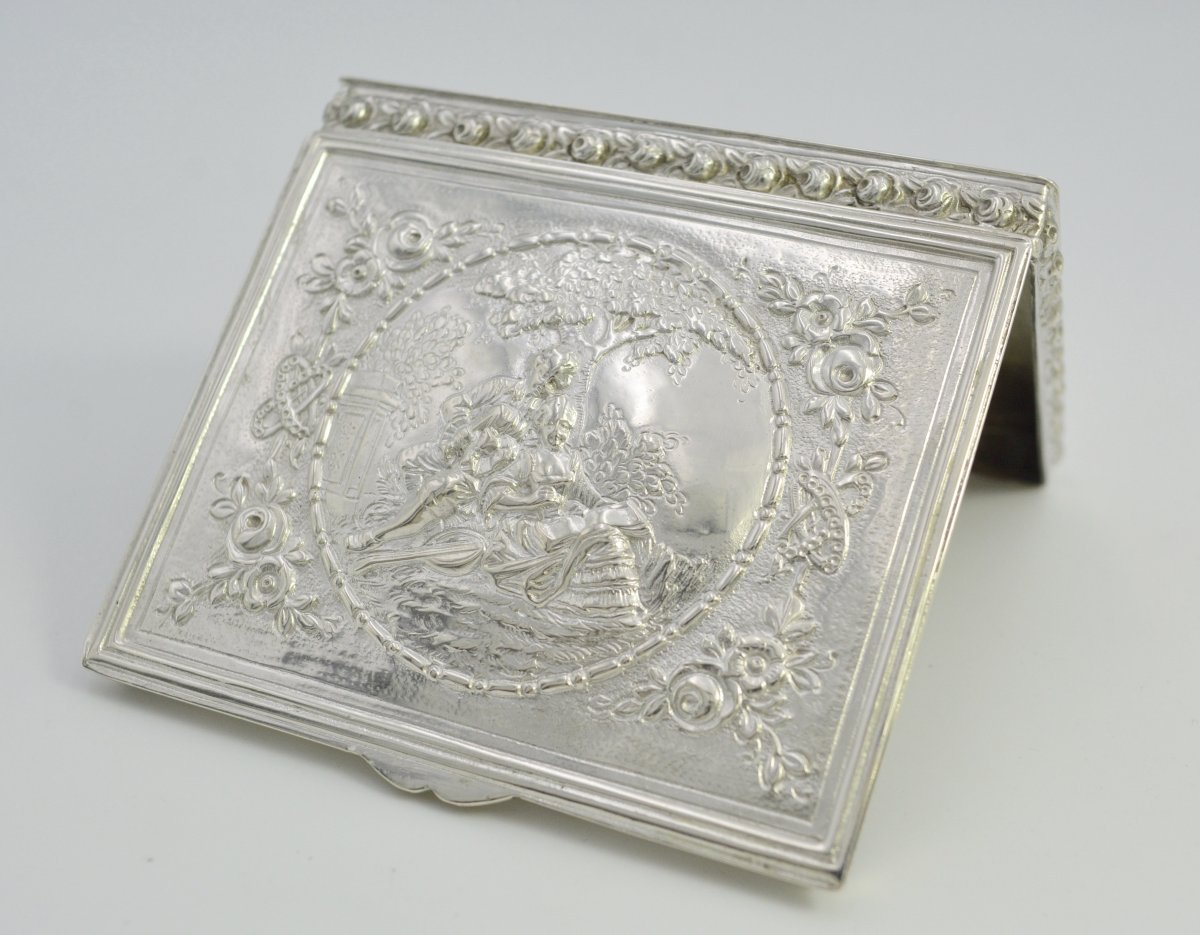 Silver Box, Germany From The Beginning Of The XXth Century-photo-2