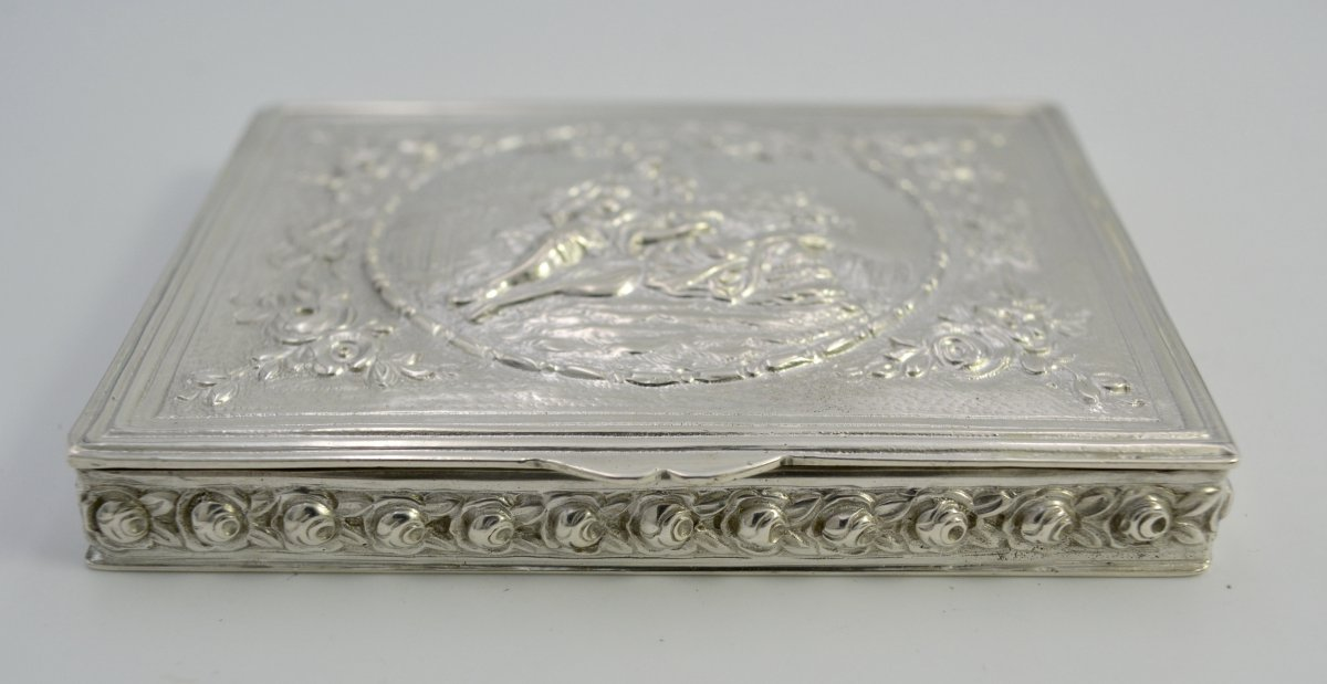 Silver Box, Germany From The Beginning Of The XXth Century-photo-4