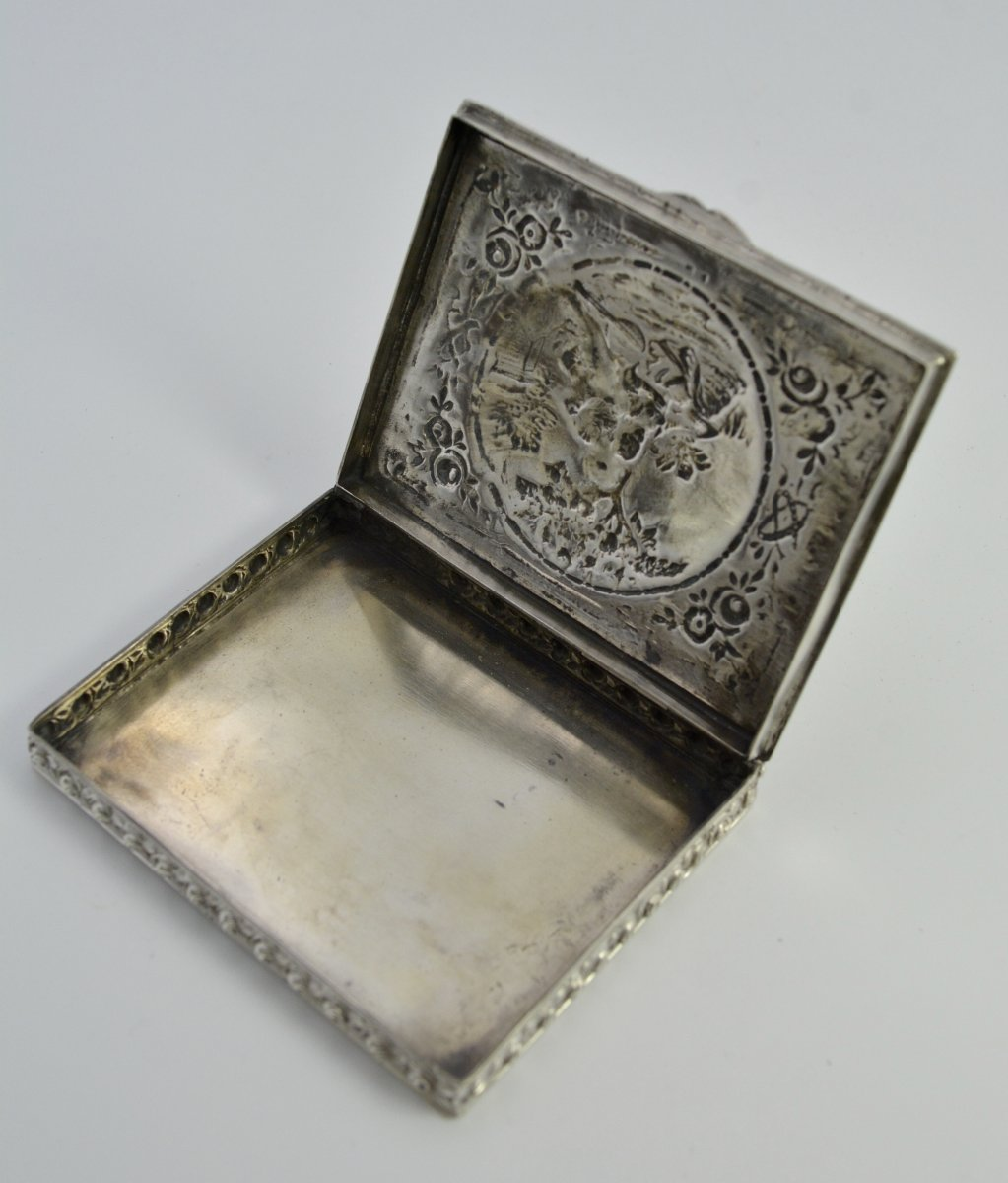 Silver Box, Germany From The Beginning Of The XXth Century-photo-3