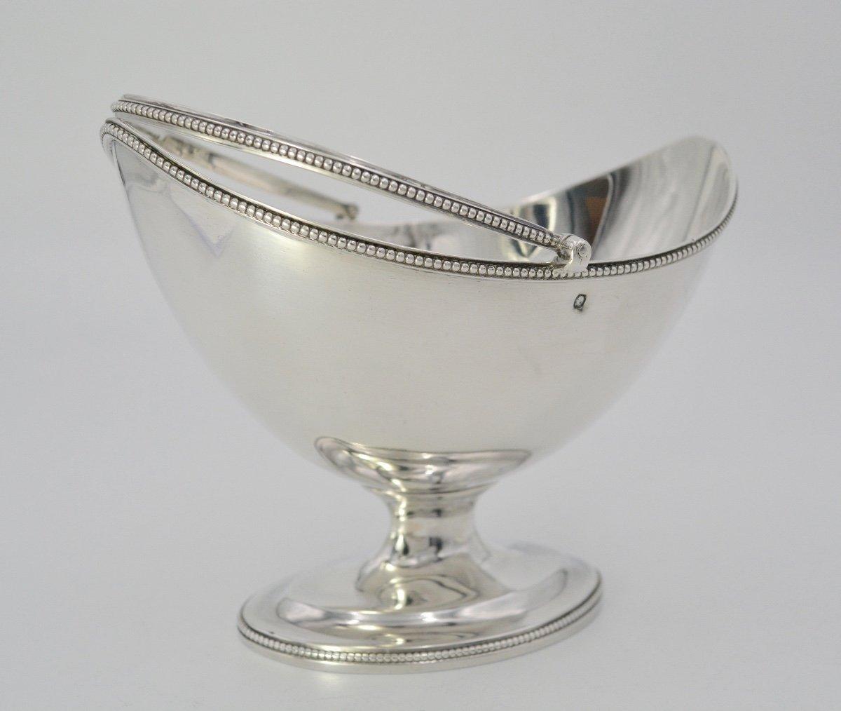 Corbeille Navette En Argent, Royaume- Uni Vers 1809-photo-1