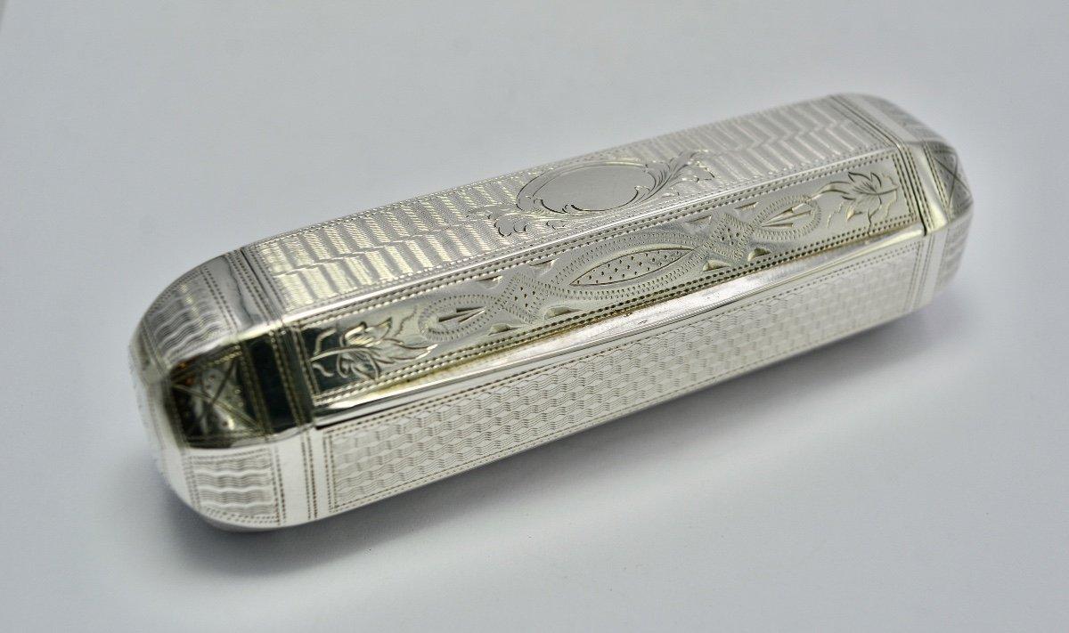 Boite / Tabatière  En Argent Autriche-hongrie XIXe Siècle