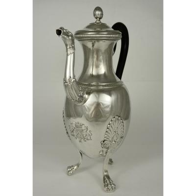 Silver Tripod Mouthwasher, Empire 1819-1838