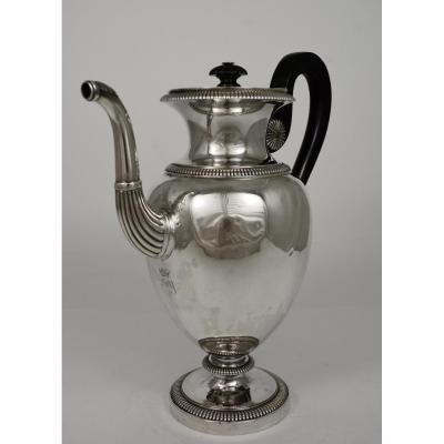 Silver Jug, France, 19th Restoration