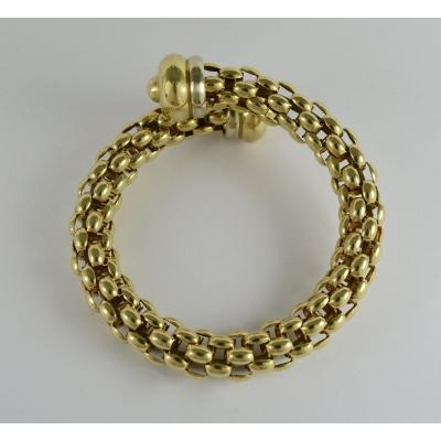 Gold Bracelet Semi-rigid 18k