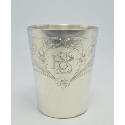 Silver Timpani, France Art Nouveau